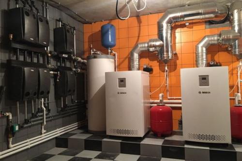 Монтаж отопления в Химках